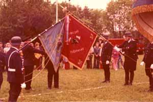 Fahnenweihe 1974